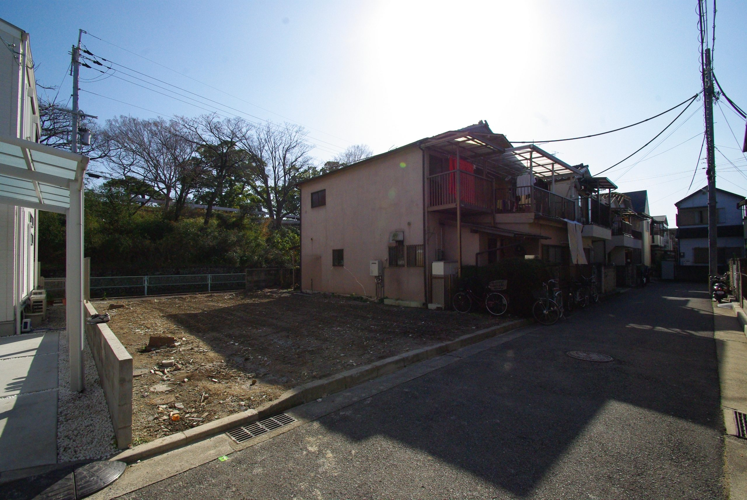 【売土地】西宮市上之町~建築条件なし~