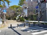 夙川公園より外観